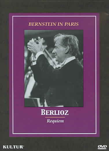 BERNSTEIN IN PARIS:BERLIOZ REQUIEM BY BERNSTEIN,LEONARD (DVD)